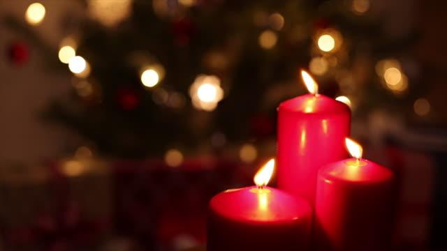 Weihnachten Kerze Licht