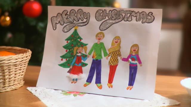 hd :dolly クリスマスカード - クリスマスカード点の映像素材/bロール