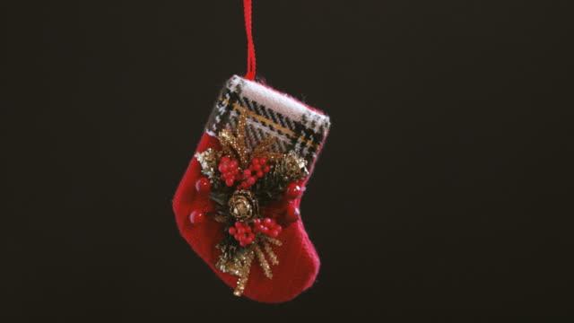 Christmas decoration hand on