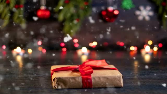 stockvideo's en b-roll-footage met 4k kerstdecoratie - loopbare - lus
