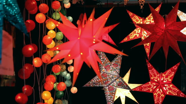 Christmas Decoration - stars and lights