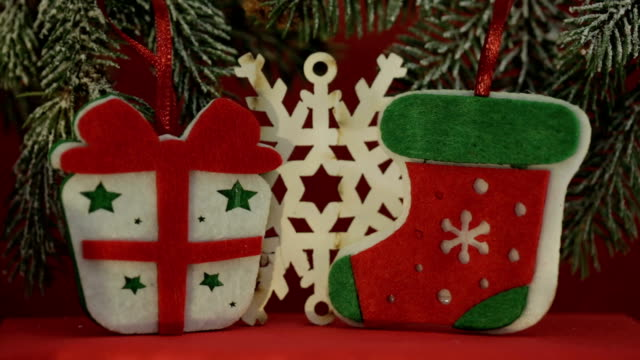 christmas decoration - fake snow stock videos & royalty-free footage
