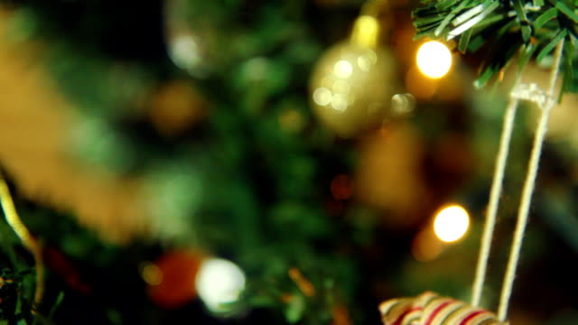 Christmas Decorations close up. HD