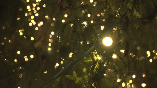 """christmas decorations in dresden during the coronavirus crisis - """"bbc news"""" stock-videos und b-roll-filmmaterial"""