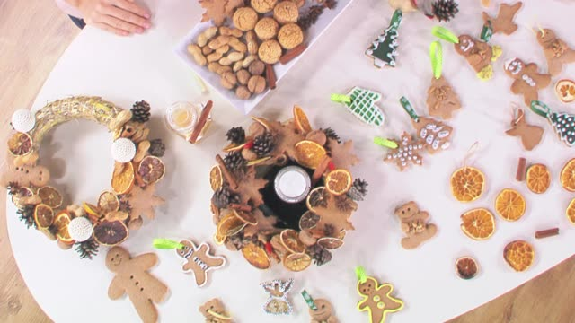 christmas decorations - christmas stock videos & royalty-free footage