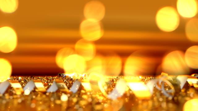 Christmas defocused background - Bokeh Gold