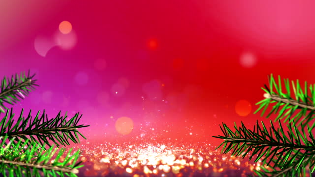 Christmas defocused background
