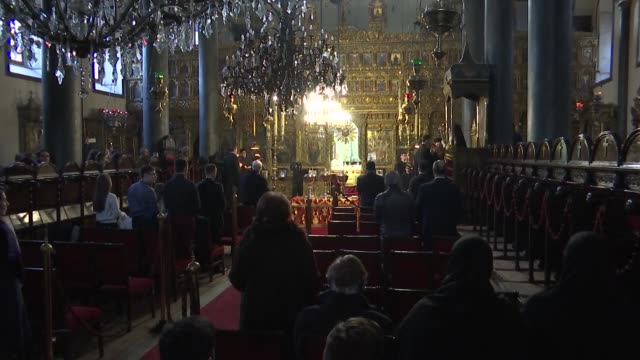 Christmas Eve mass is held on January 06 2018 by the Fener Greek Orthodox Patriarchate in Istanbul The celebrations began early Saturday with a mass...