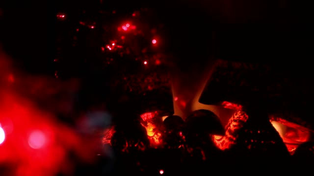 christmas fireplace - warming up stock videos & royalty-free footage