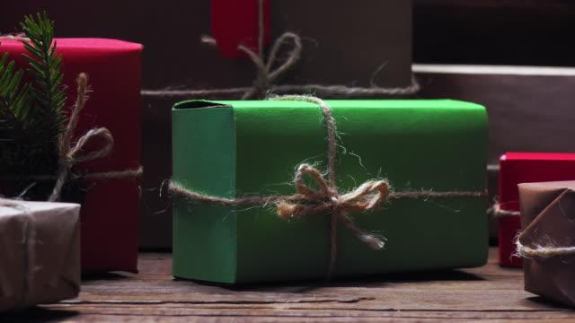 vidéos et rushes de coffrets-cadeaux de noël  - kraft