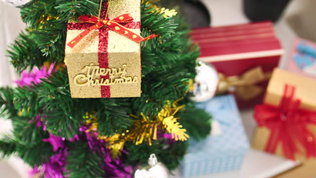 Christmas Gift in Christmas Decoration