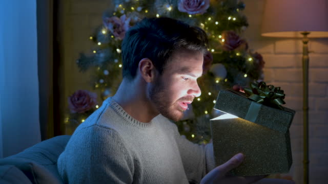 christmas gift - metrosexual stock videos & royalty-free footage
