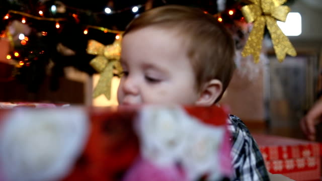 9ab033897 40 Newborn Christmas Gifts Video Clips & Footage - Getty Images