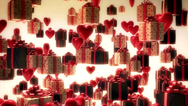christmas gifts - christmas wrapping paper stock videos & royalty-free footage