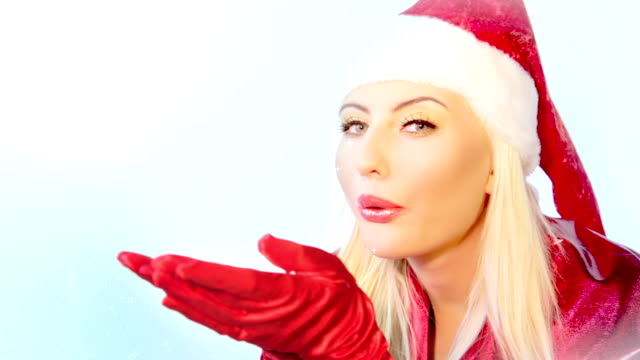 christmas girl - formal glove stock videos and b-roll footage