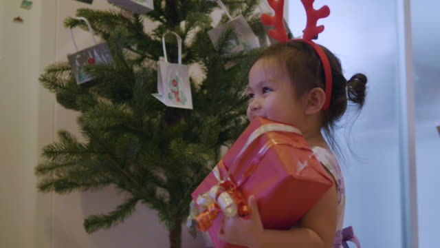 Christmas Holidays in Thailand of baby at home