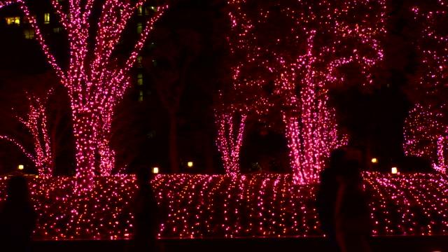 christmas illumination - christmas decoration stock videos and b-roll footage