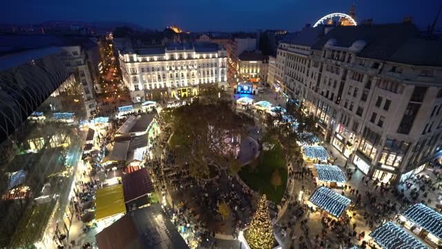 vídeos y material grabado en eventos de stock de navidad en budapest - cultura húngara