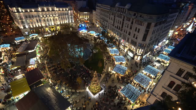 christmas in budapest - traditionally hungarian stock videos & royalty-free footage