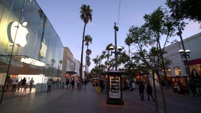 christmas in california - apple store stock videos & royalty-free footage
