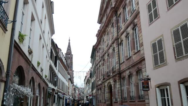 vidéos et rushes de noël en france - célébrer les fêtes de noël à strasbourg - strasbourg