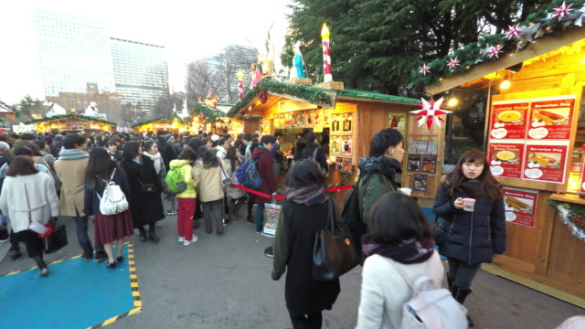 christmas in japan - cordon boundary stock videos & royalty-free footage