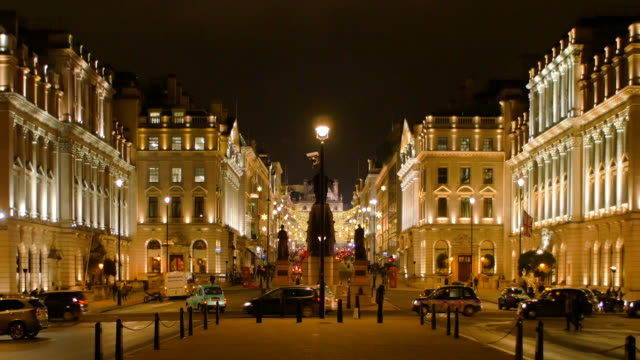 christmas in london - west end london stock videos and b-roll footage
