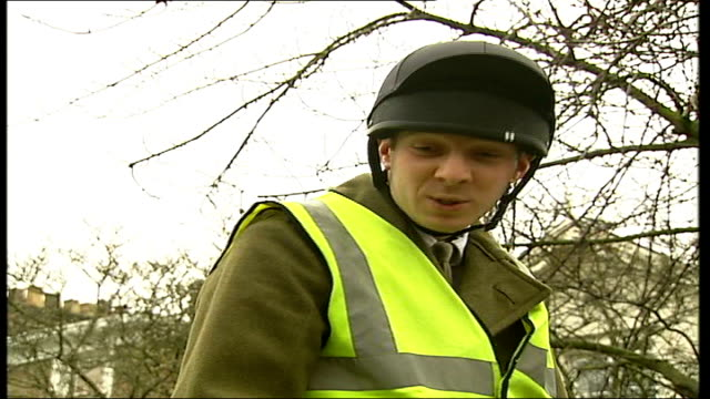 kings troop royal artillery spreads christmas cheer captain dominic ibbs interview sot on reason for coming out at christmas - royal horse artillery stock videos and b-roll footage