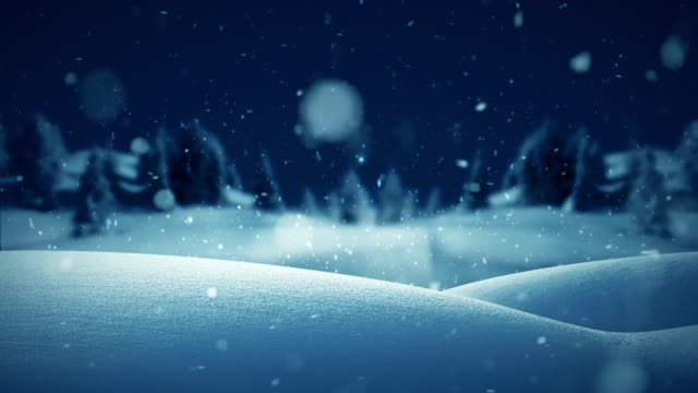 christmas landscape background blue - north pole stock videos & royalty-free footage