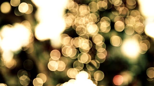 vídeos y material grabado en eventos de stock de christmas light - dentro