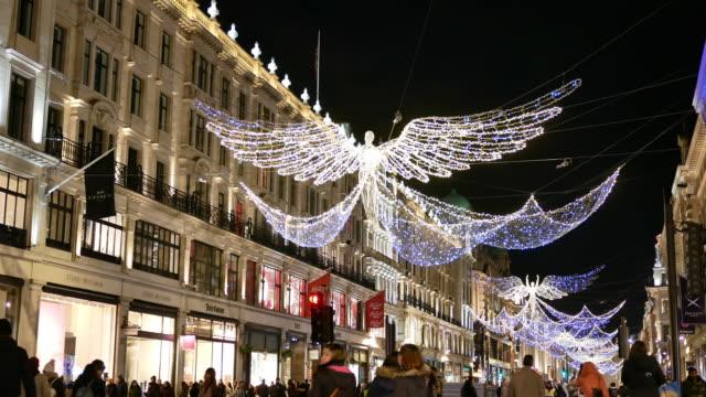 Hochwertige Weihnachtsbeleuchtung.80 Hochwertige Oxford Street Christmas Lights Video Clips Und