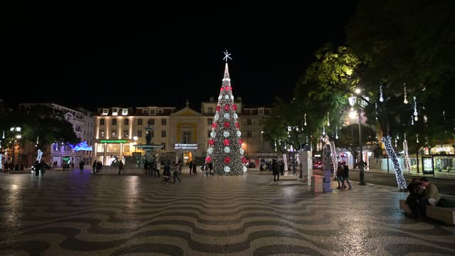 PRT: Christmas Lights In Lisbon