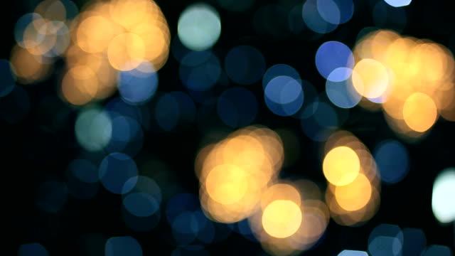 christmas lights - fairy lights stock videos & royalty-free footage