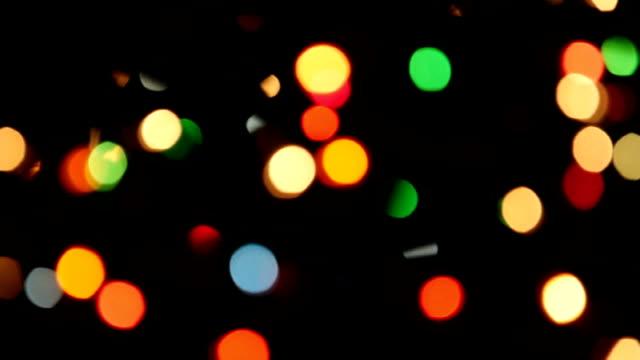 christmas lights - blinking light stock videos & royalty-free footage