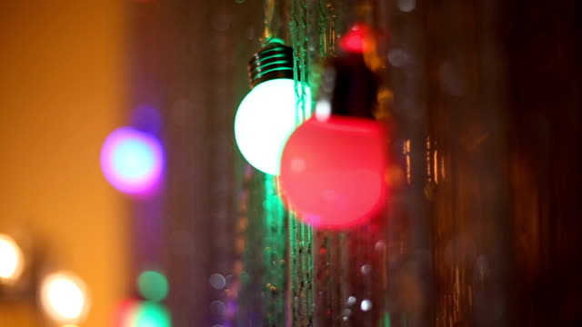 80 Top Christmas Lights String Video Clips & Footage - Getty