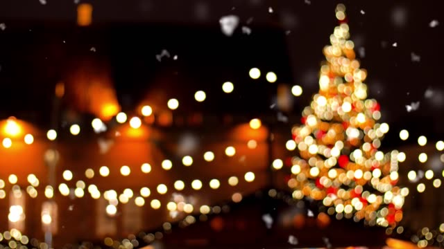 christmas market at old town in tallinn