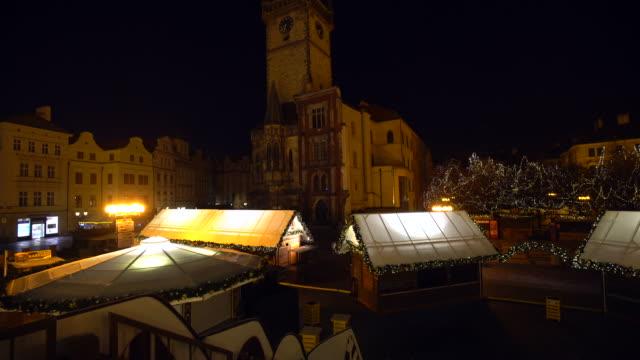 Christmas Market in Prague, Panning