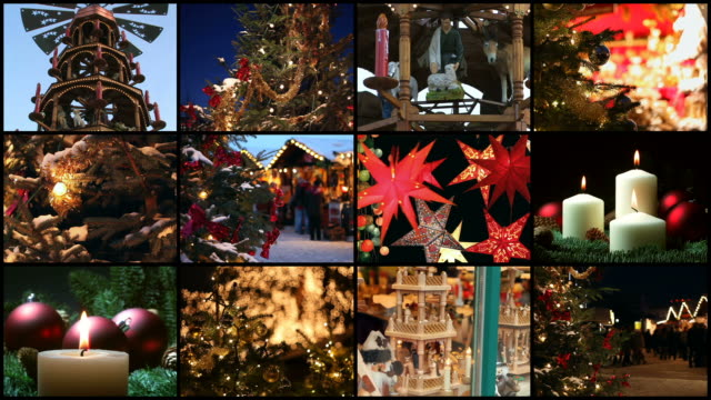 christmas - montage - idee stock videos & royalty-free footage