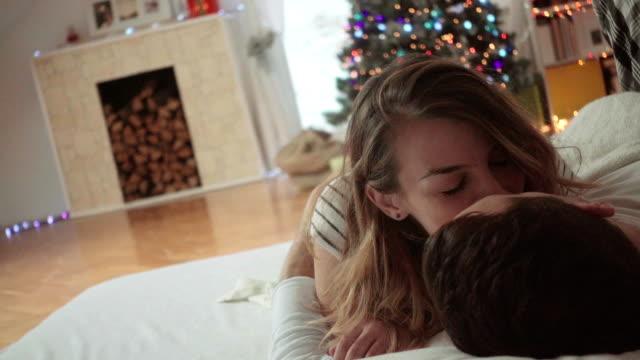 Juldagens morgon i sängen