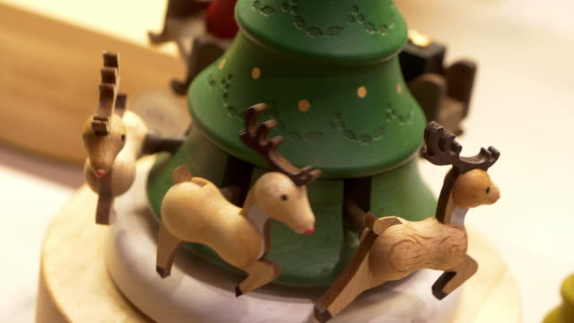christmas music box - choir stock videos & royalty-free footage