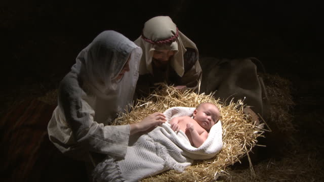 christmas nativity - new life stock videos & royalty-free footage