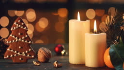 Christmas natural decoration