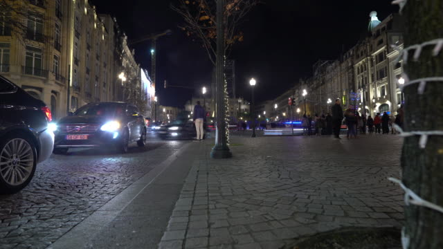 christmas night lights - monument stock videos & royalty-free footage