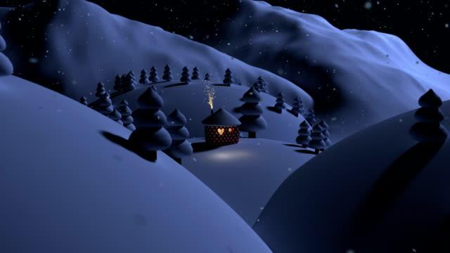 weihnachten bei nacht - vorlesen stock-videos und b-roll-filmmaterial