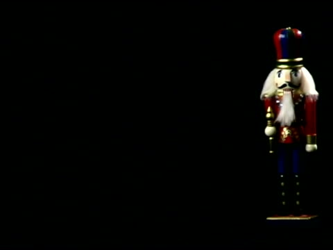 christmas nutcracker - male likeness stock videos & royalty-free footage