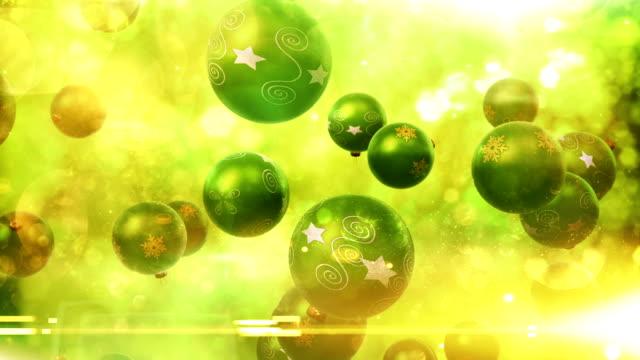 Natal decorações cair (verde)-Loop