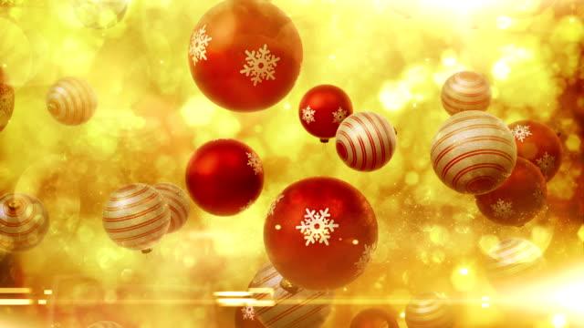 Ornamentos de Natal-Loop diminuir (vermelho)