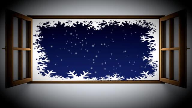 vídeos de stock, filmes e b-roll de natal minha janela - peitoril de janela