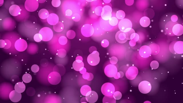 christmas pink bokeh background - bubble stock videos and b-roll footage