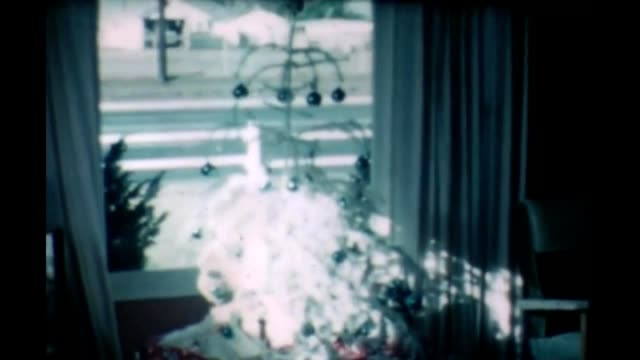 1965 christmas presents - shirt and tie stock videos & royalty-free footage